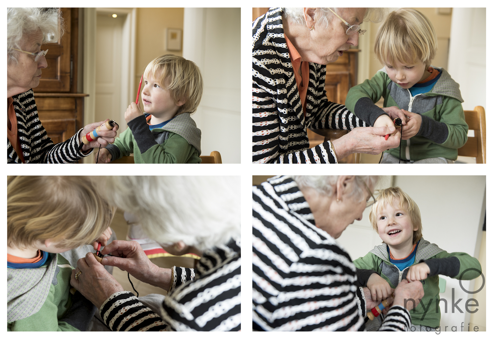 Day in the life: oma en kleinzoon